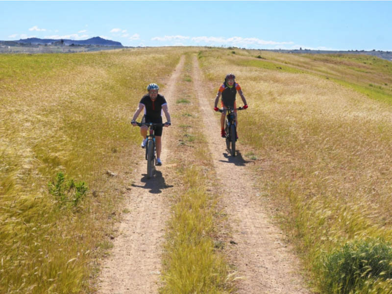 Escursione in bici