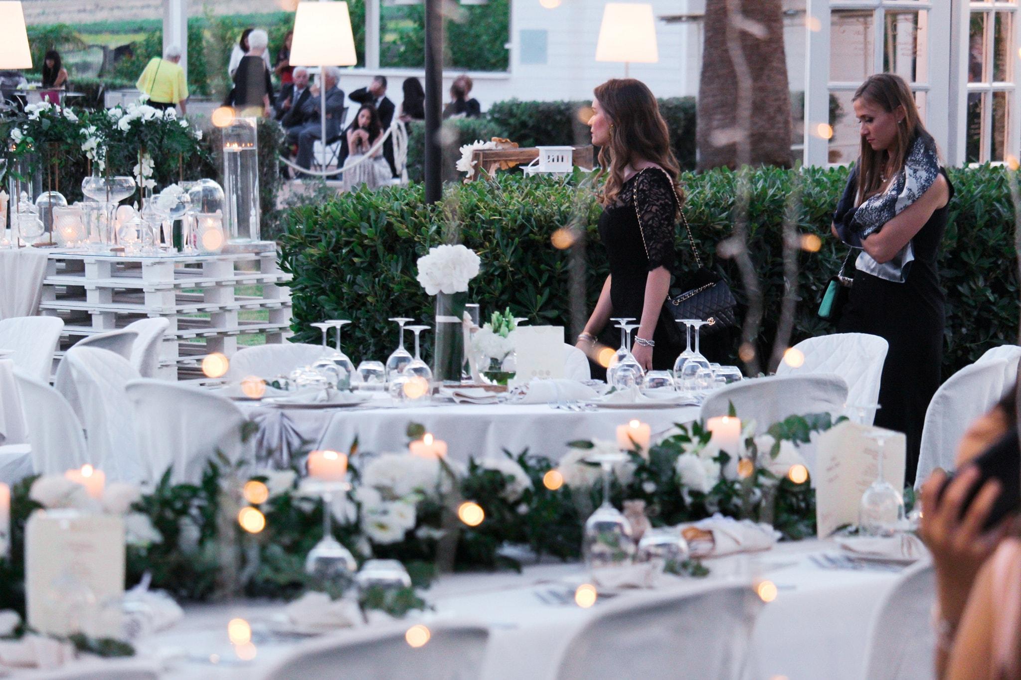 Matrimonio in giardino, Vigneto