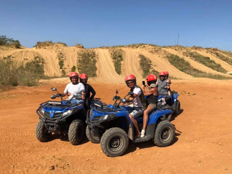 Passeggiata in quad