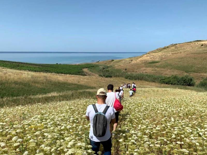 Passeggiata naturalistica nel territorio di Menfi